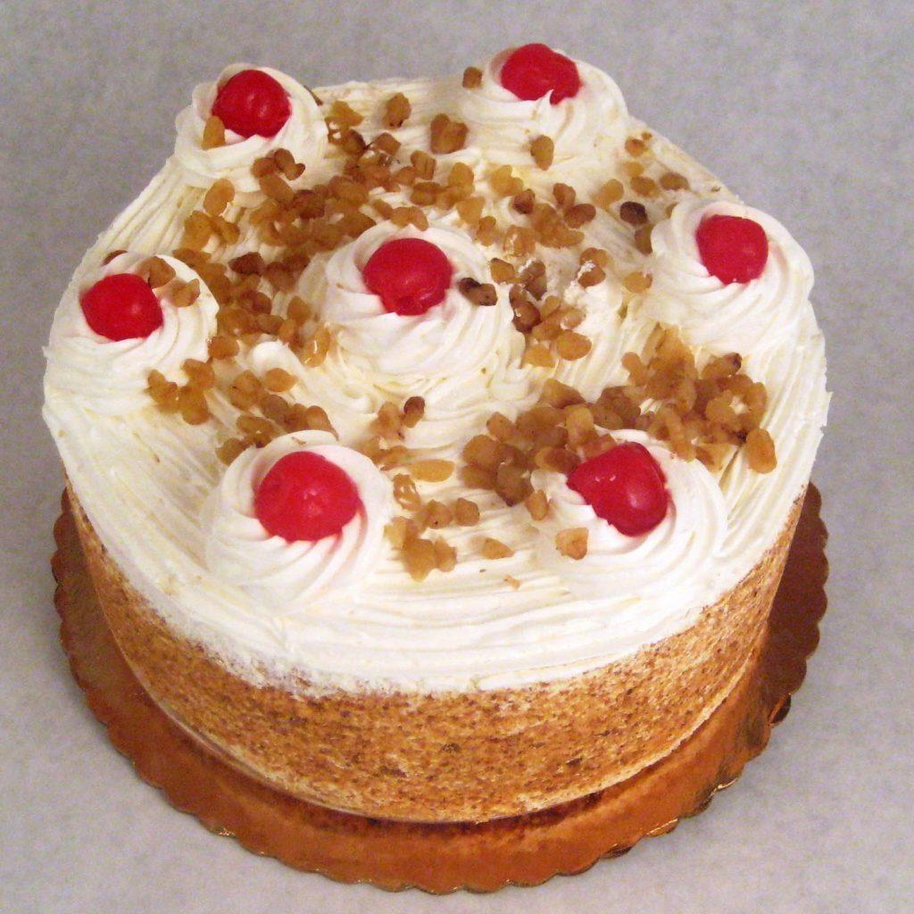 Custard Torte