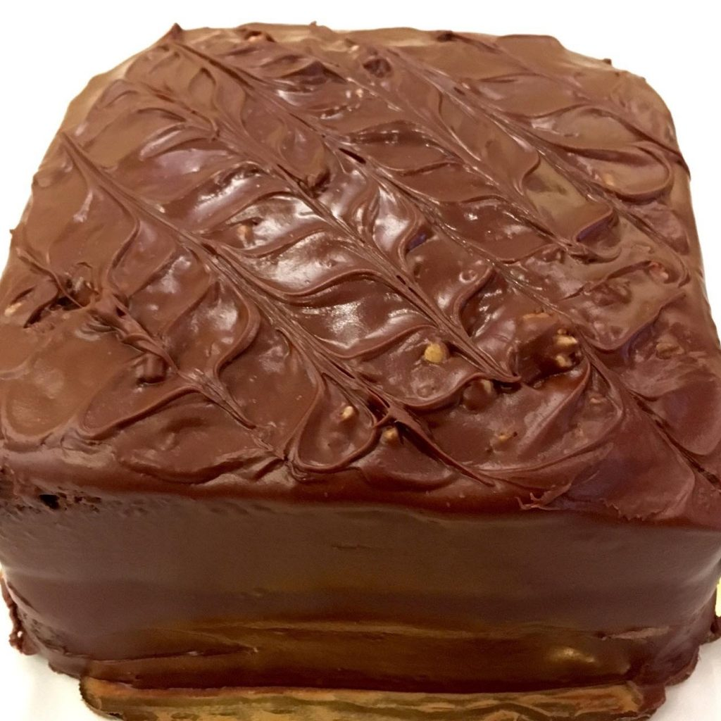 Fudge Nut Cake