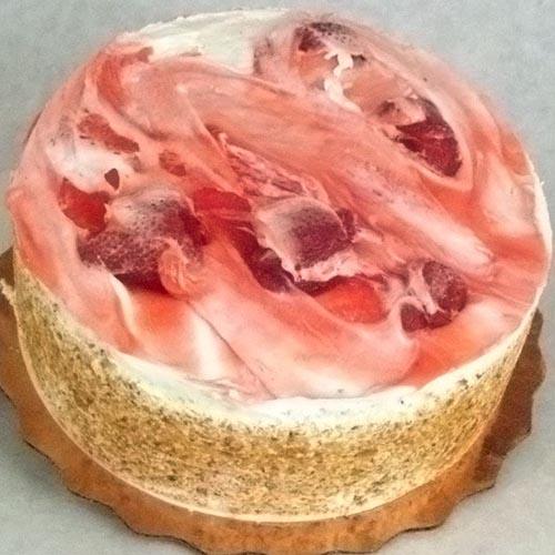 Strawberry WC Cake