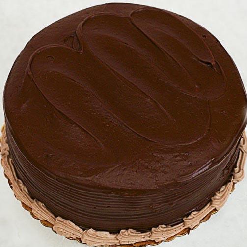 Yellow w/ Fudge Layer Cake