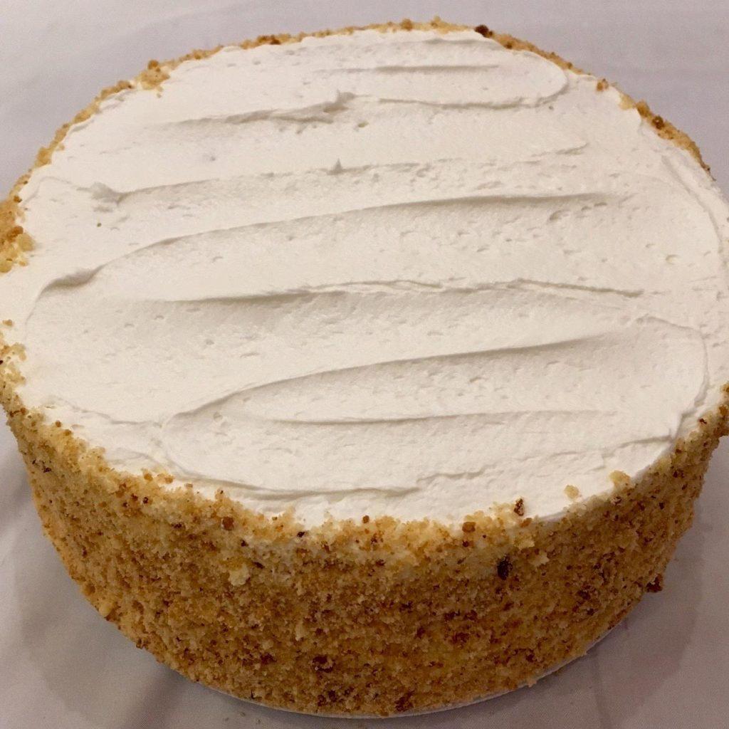 Yellow BC Layer Cake