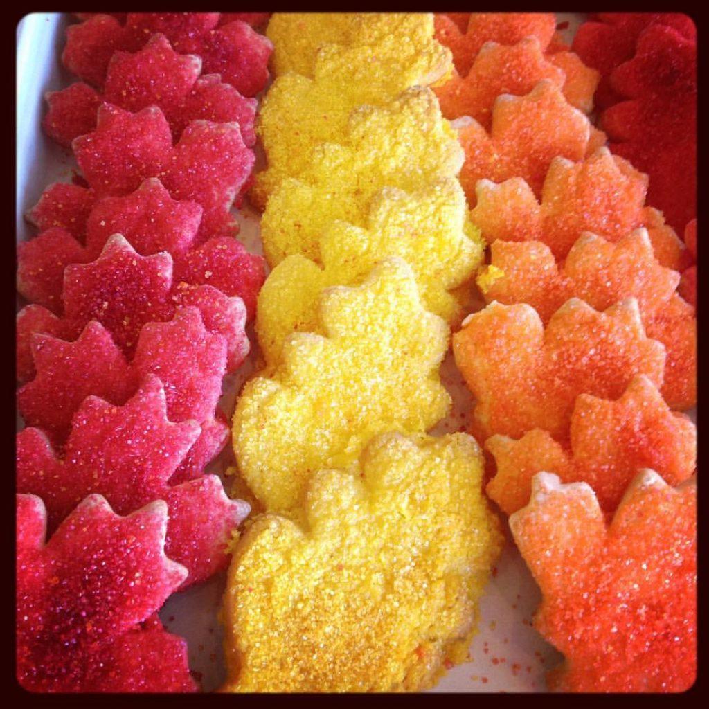 Sugar Leaf Cookies - Instagram