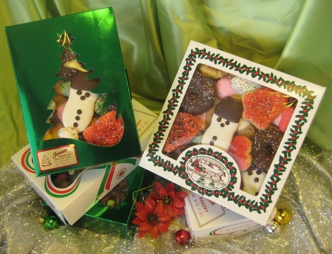 Christmas Butter cookie boxes