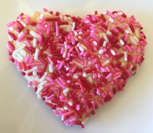 Valentine Sprinkle Cookie