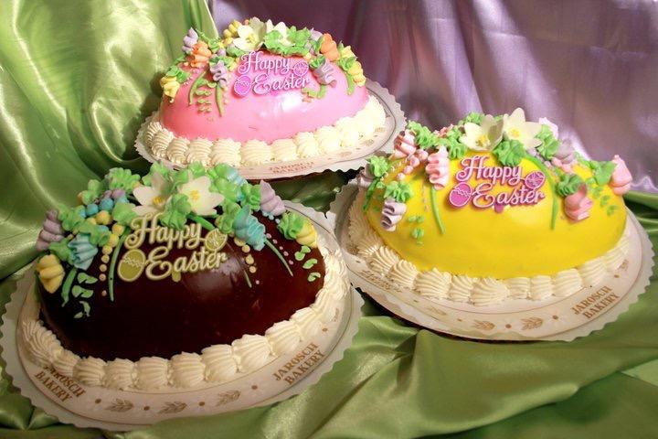 Large Egg Cakes