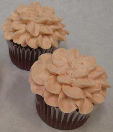 Flower Petal Cupcake