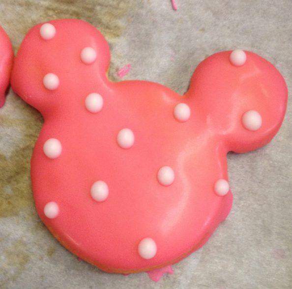 Pink Minnie Cookie