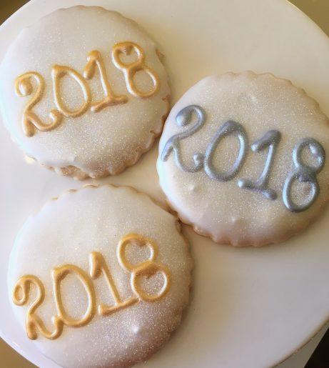 New Years Eve 2017 Cookies
