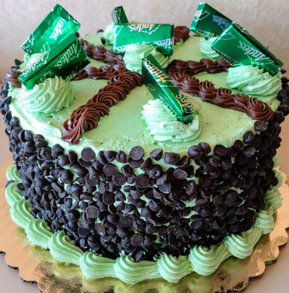 Buttercream Mint Torte