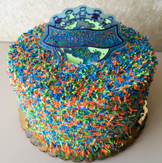 Sprinkle Cake - Father's Day
