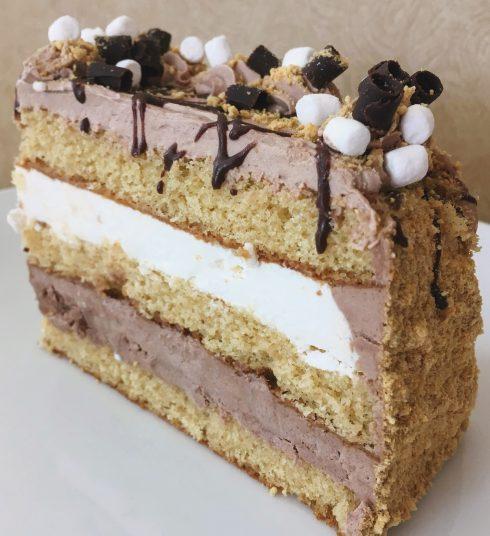 S'more Cake Slice
