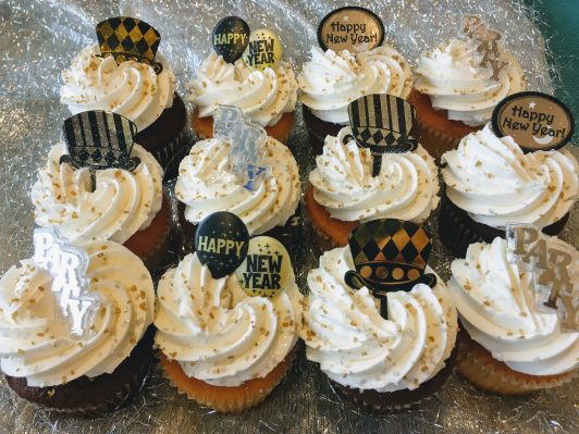 New Year's Cupcakes 2018