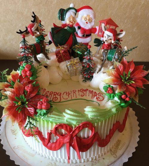 Custom Christmas Cake 2018