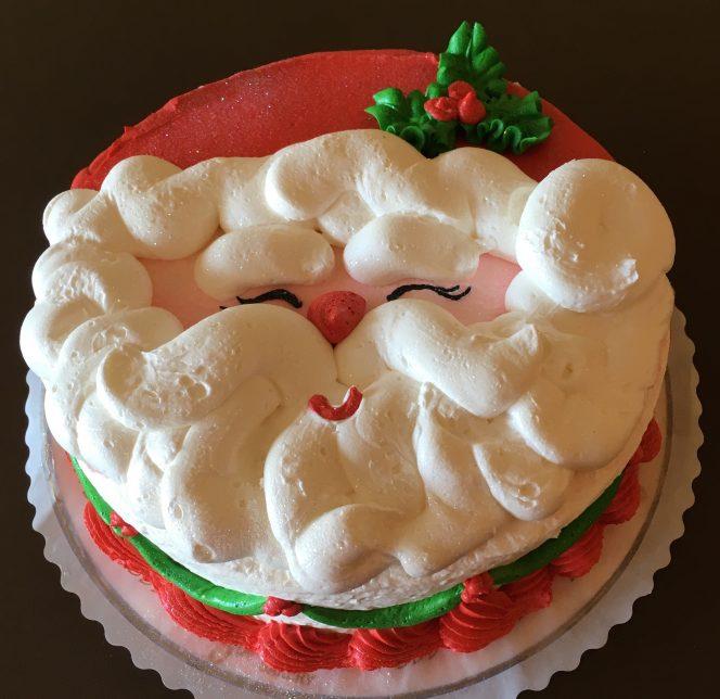 Santa Face Cake 2018