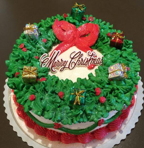 Wreath Cake 2018