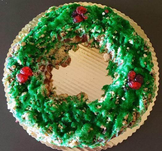Wreath Coffeecake 2018