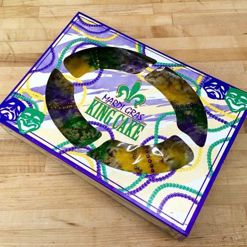 King's Cake Box - Mardi Gras