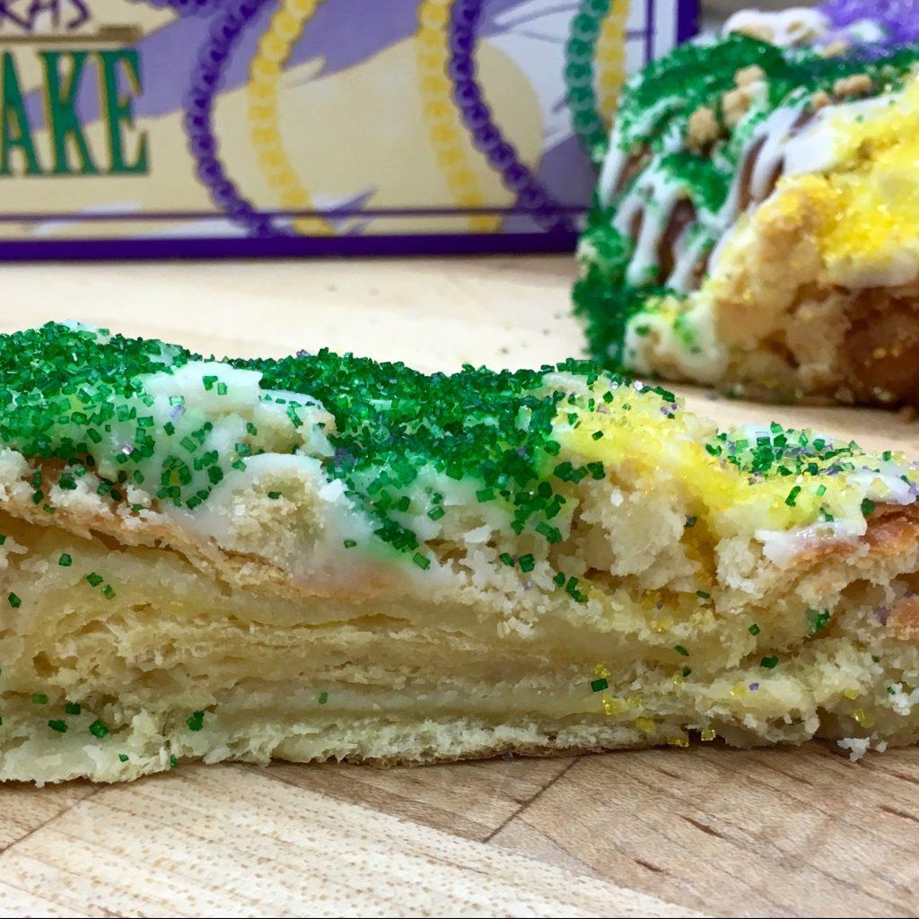 King's Cake All Butter - Mardi Gras