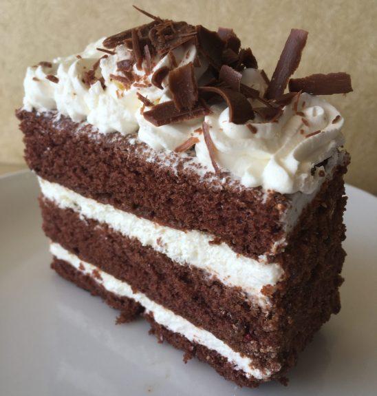 Devil's Food Cake Slice