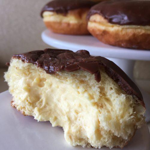 Custard Bismark - Chocolate