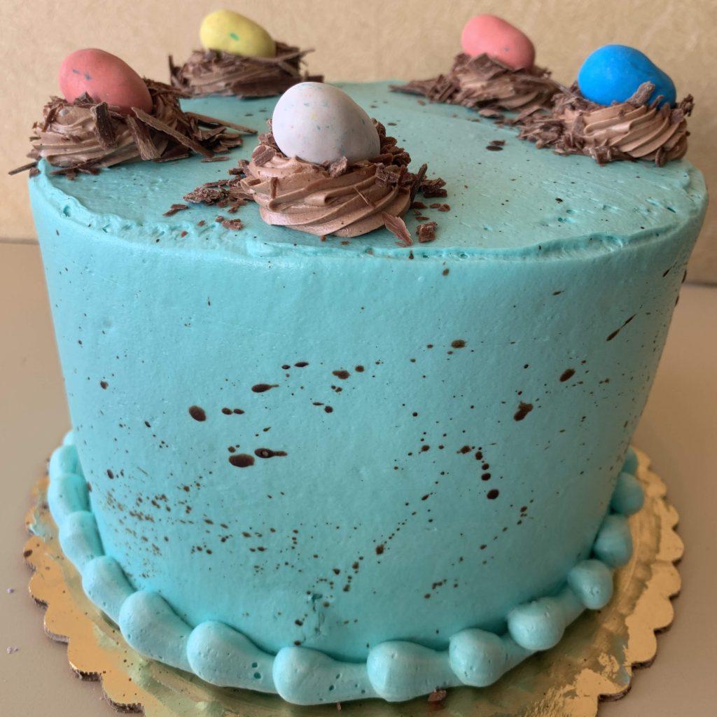 Robins Egg Cake - Easter