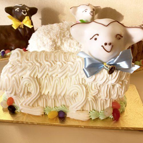 Buttercream Lamb Cake - Easter