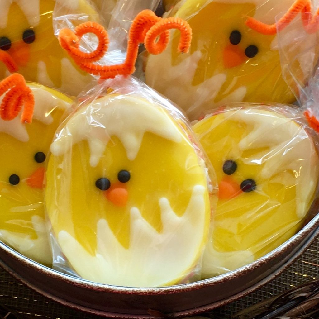 Egg & Chick Cookie Package - Easter