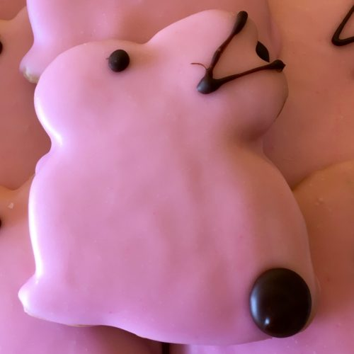Iced Rabbit Cookie - Easter