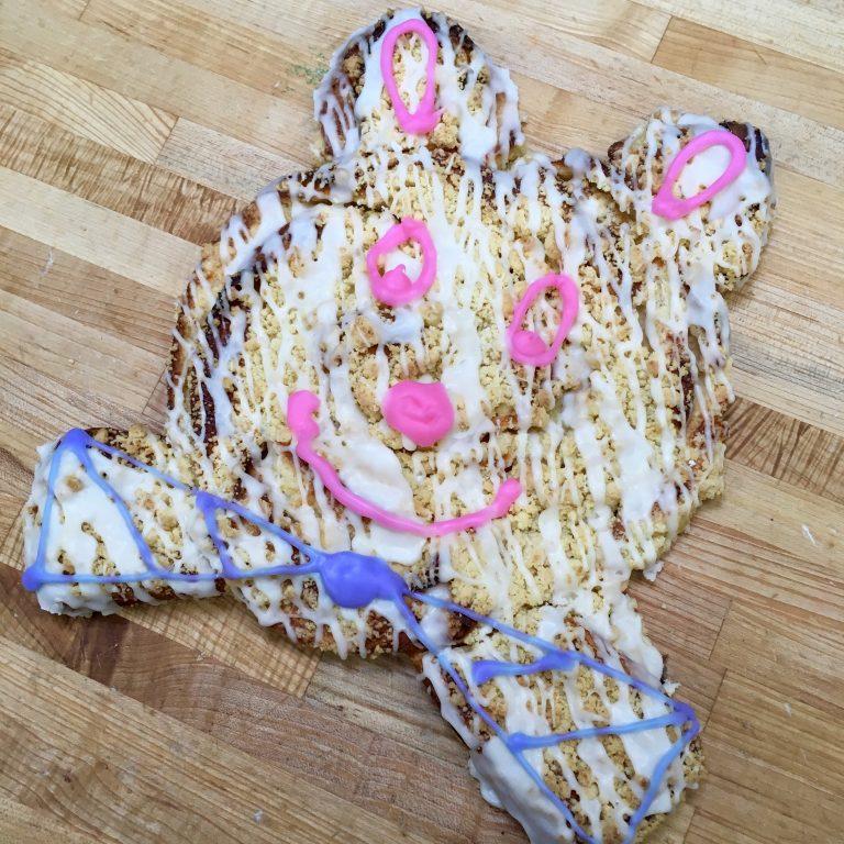 Easter Bunny Coffeecake