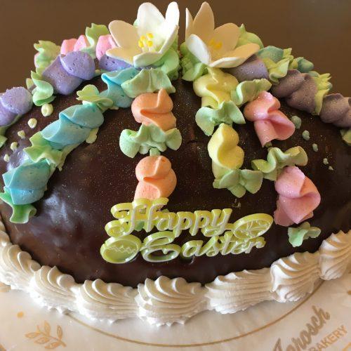 Chocolate Egg Cake - Easter