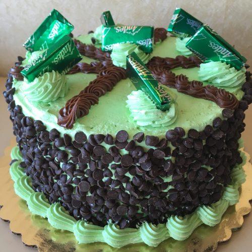 Buttercream Mint Torte - St. Patricks Day