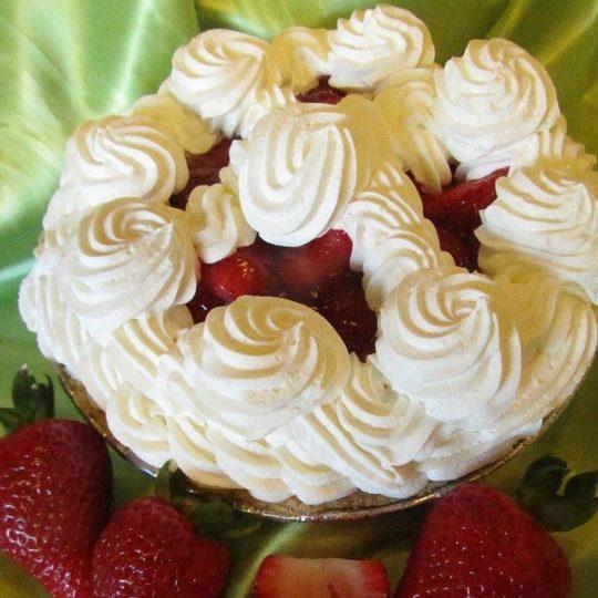 Strawberry WC Pie