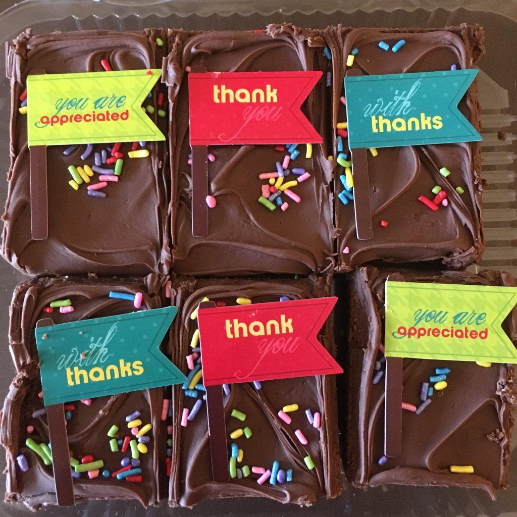 Brownie Packs - Admin Prof Day