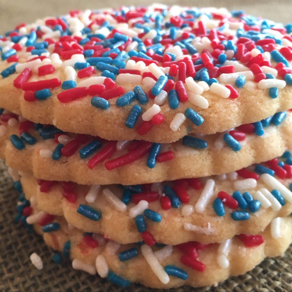 Sprinkle Cookie - Patriotic