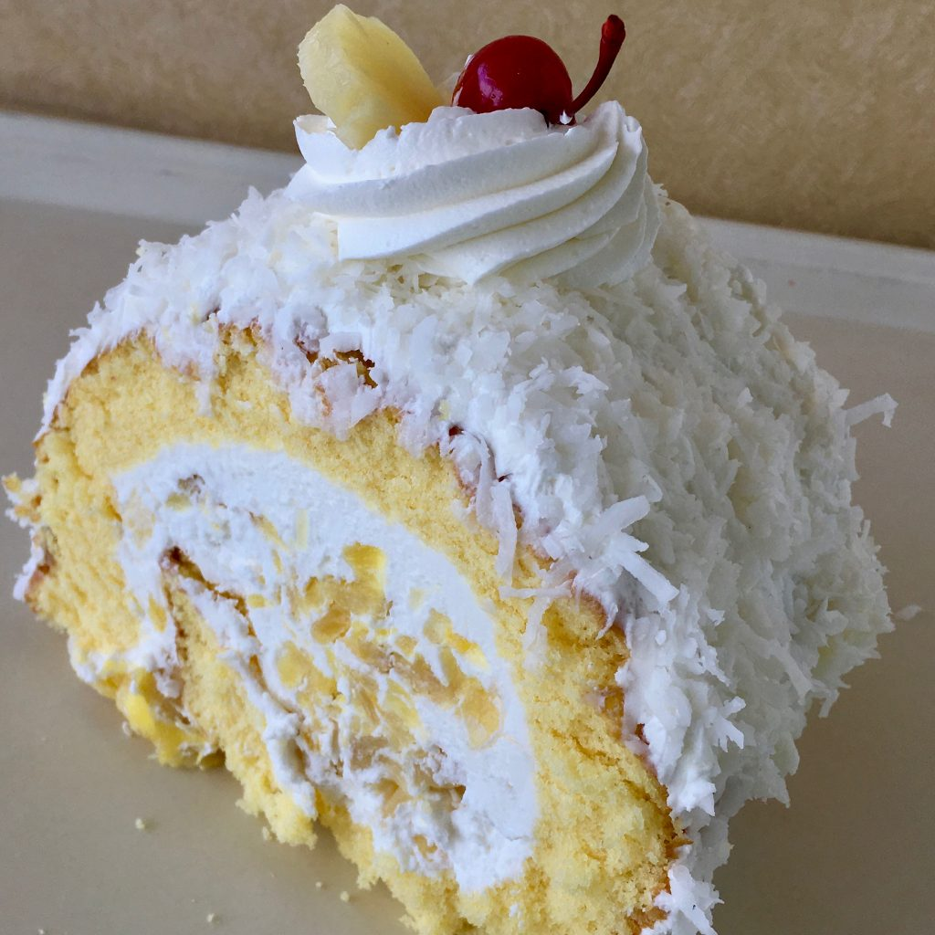 Pineapple Cake Roll