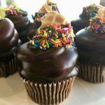 Hot Fudge Sundae Cupcake