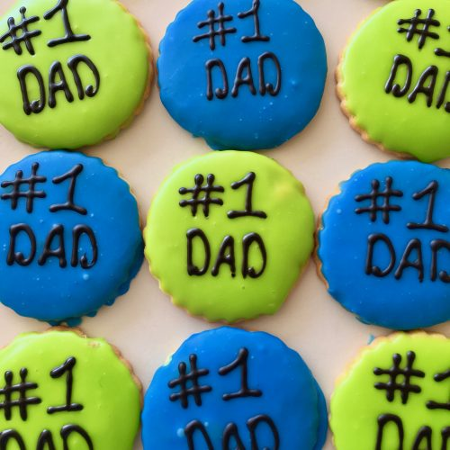 #1 Dad Cookie Father's Day