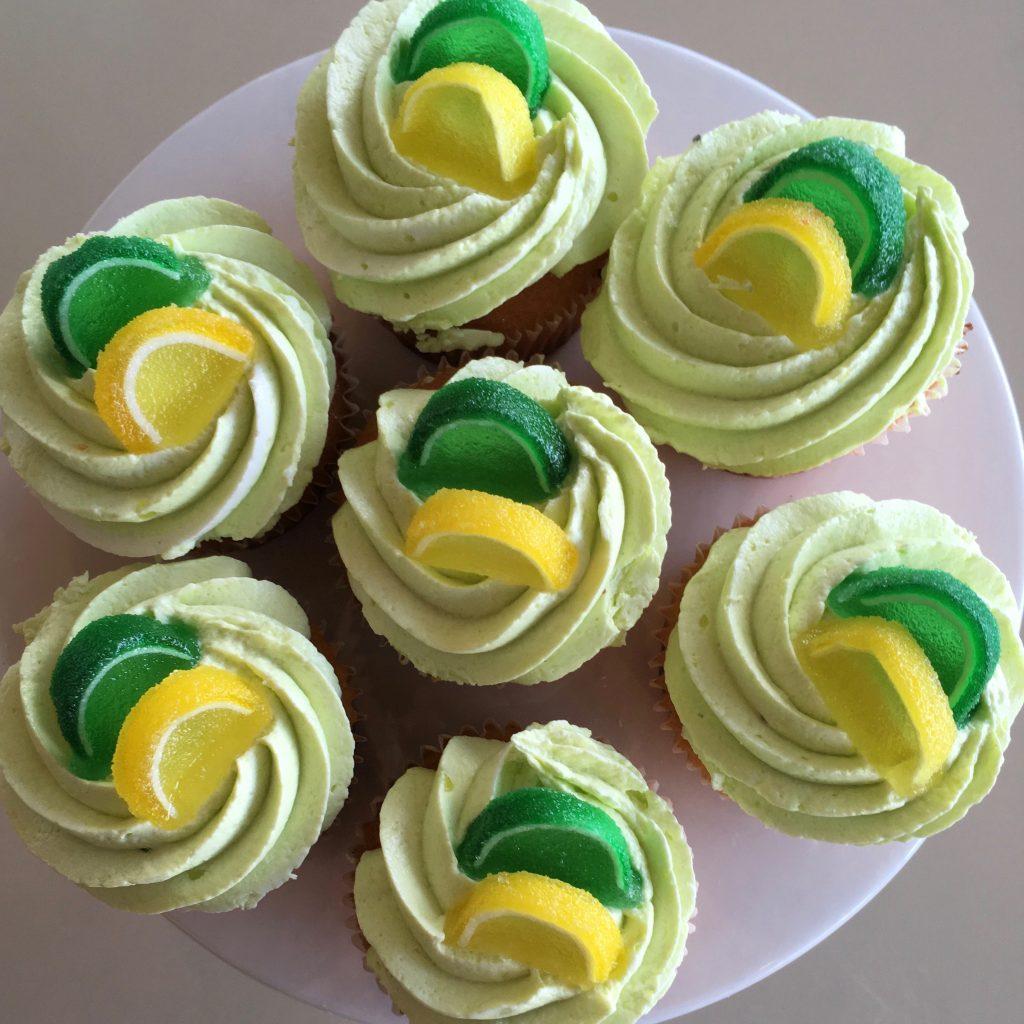 Lemon Lime Cupcake