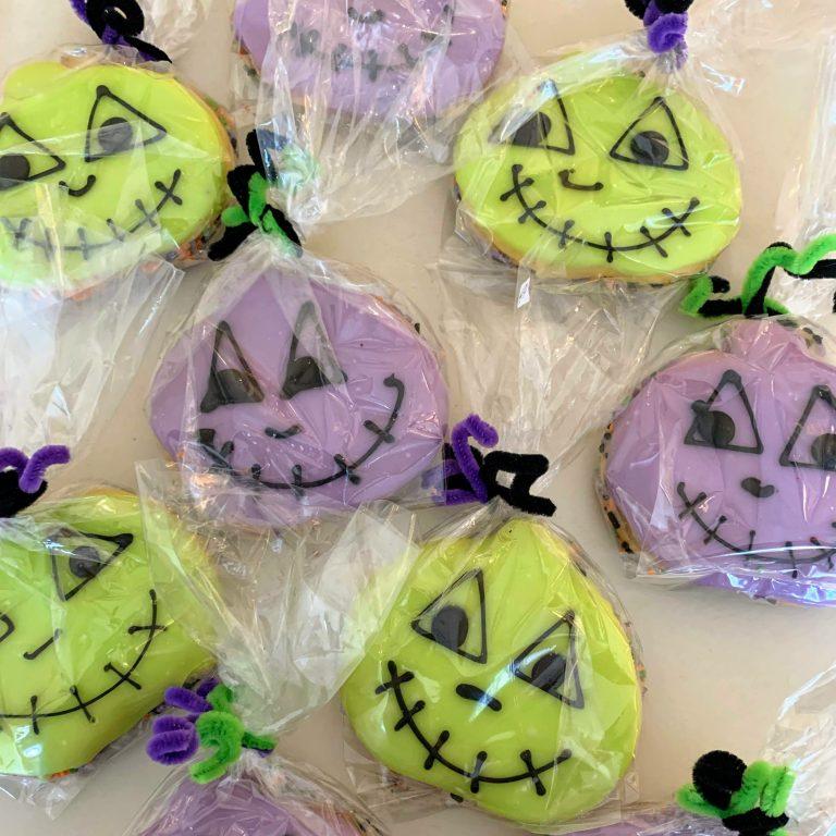Halloween Iced Cookie Bags 2019