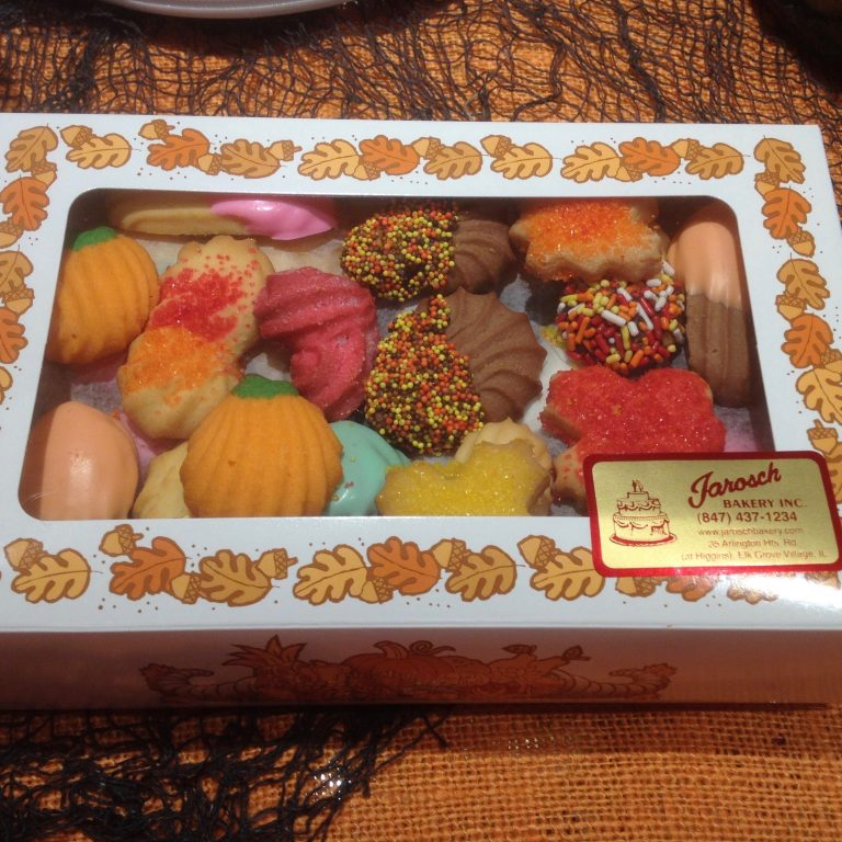 Fall 1# Butter Cookie Box