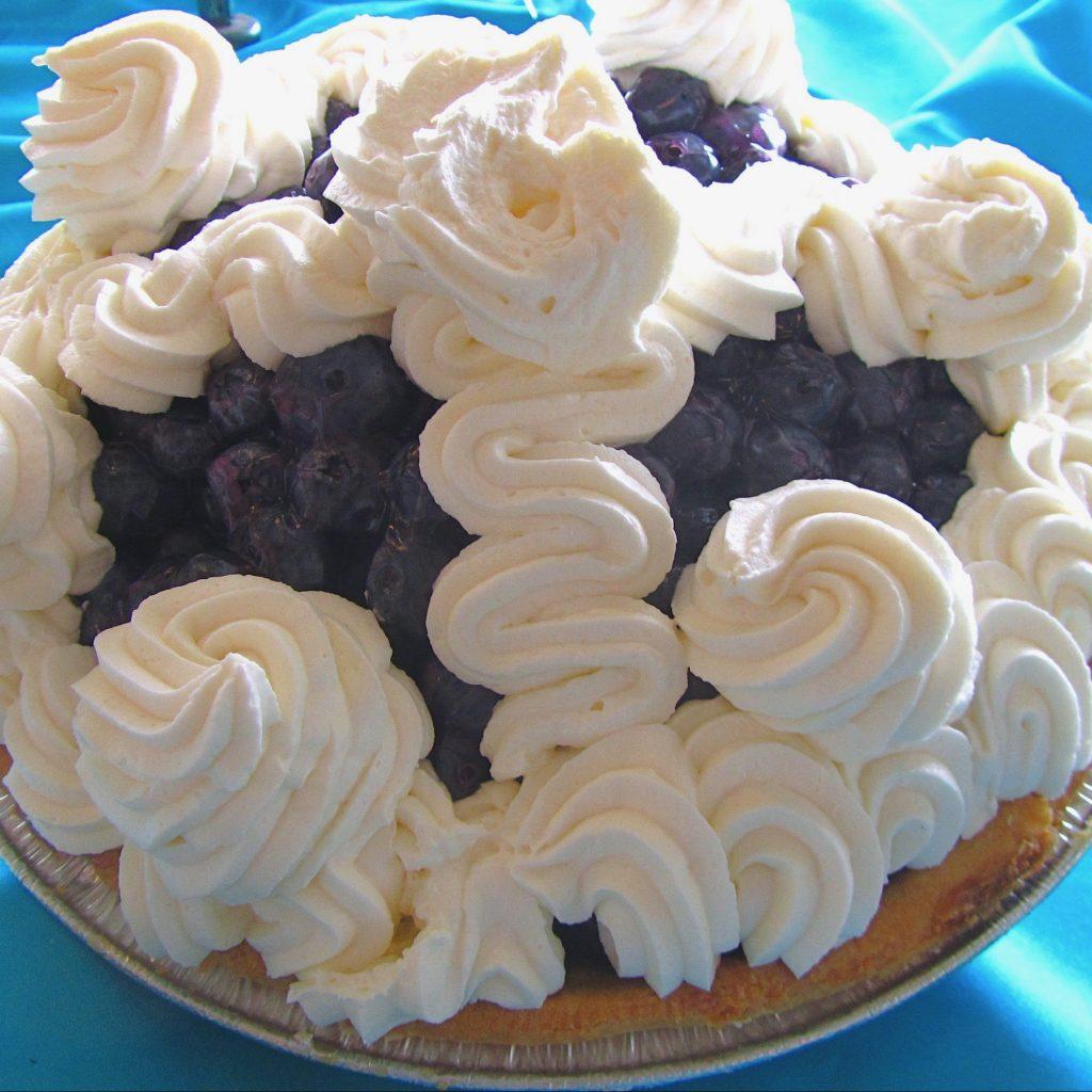Blueberry WC Pie - August 2011