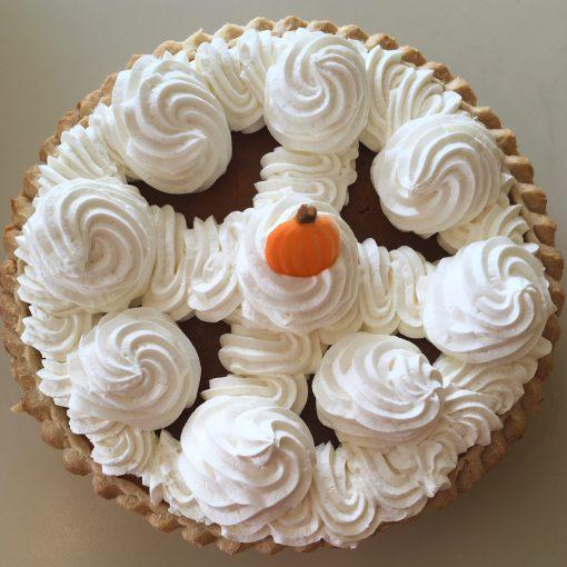 Pumpkin Whipped Cream Pie