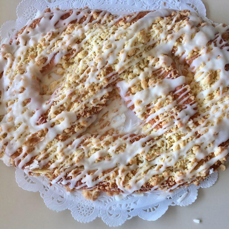 Marzipan Coffeecake