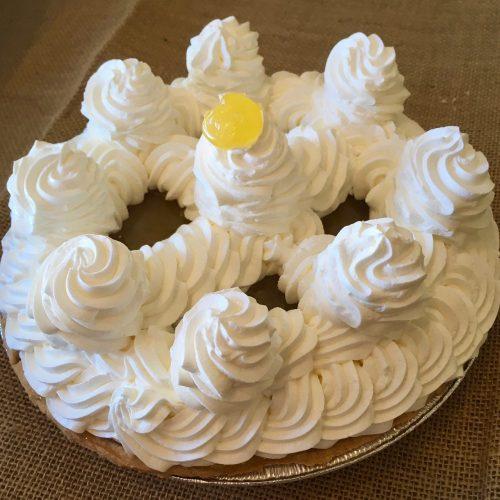 Lemon Whipped Cream Pie