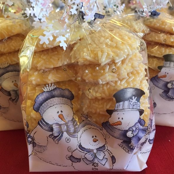 Button Cookie Bags