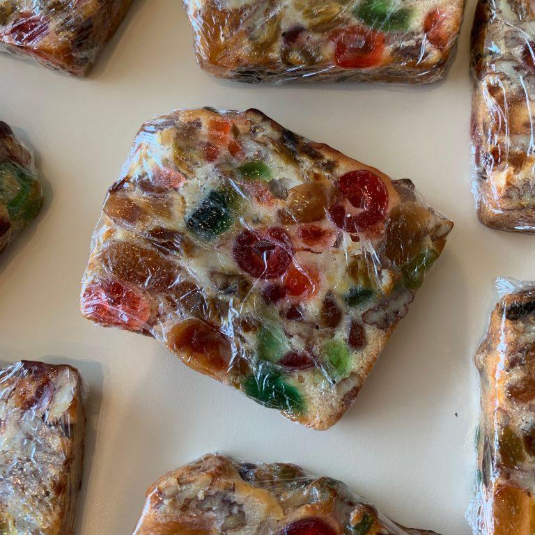 Fruit Cake Slice