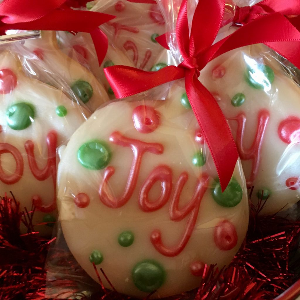 Ornament Cookie Bags