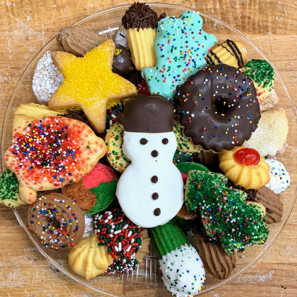 1# Christmas Butter Cookie Tray