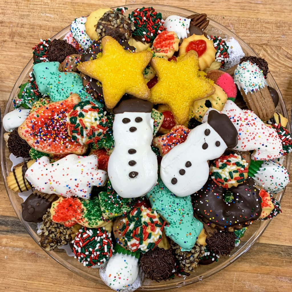 2# Christmas Butter Cookie Tray