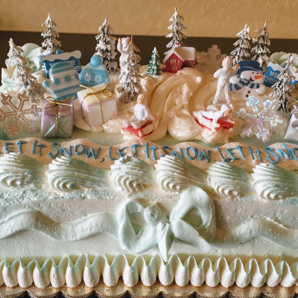 Winter Wonderland Set Cake